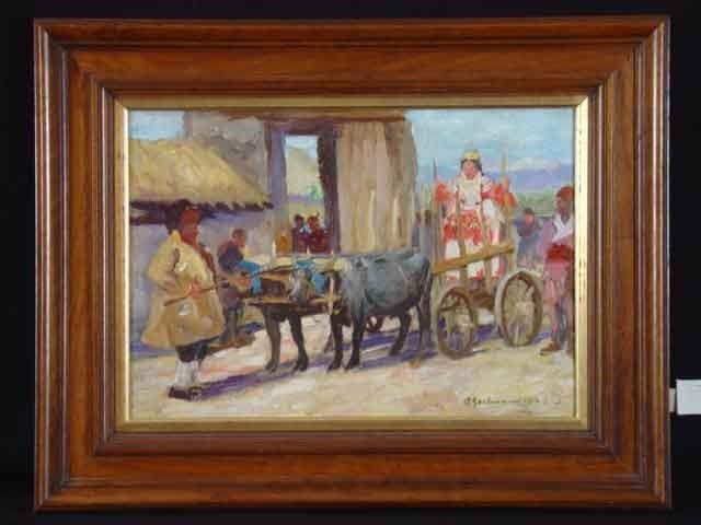 Albert Gartmann 1876-1955 Macedonian Father and Bride 1916