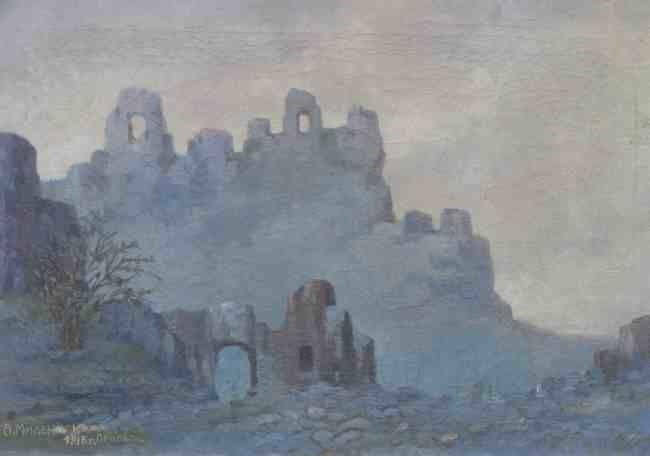 Alexander-Milenkov-1882-–-1971-Prilep-1916-oil-on-canvas