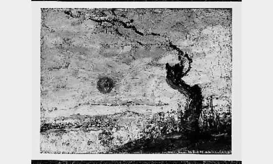 Изгрејсонце во Солун, 1917, масло на платно