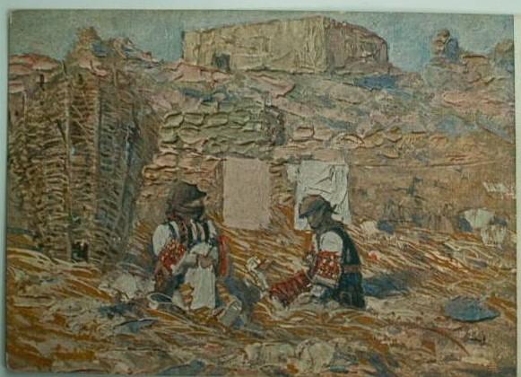 Alfonso Corradi (1889-1972), Macedonia 1918