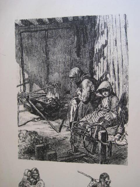 Македонски Селани, Егејска Македонија 1916, литографија