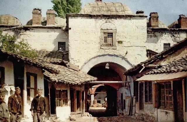 Скопје 1913, автохромна фотографија