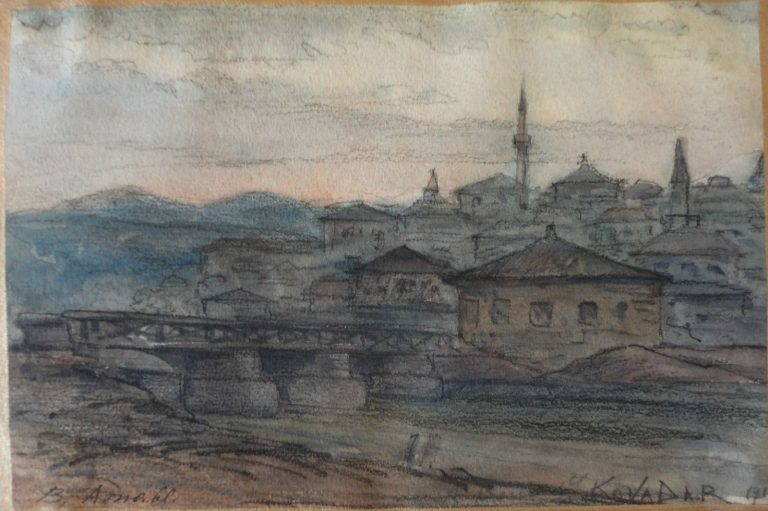 Кавадарци, акварели и цртежи, 1915