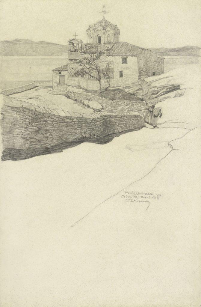 Bleistiftzeichnung-von-Leopold-Forstner