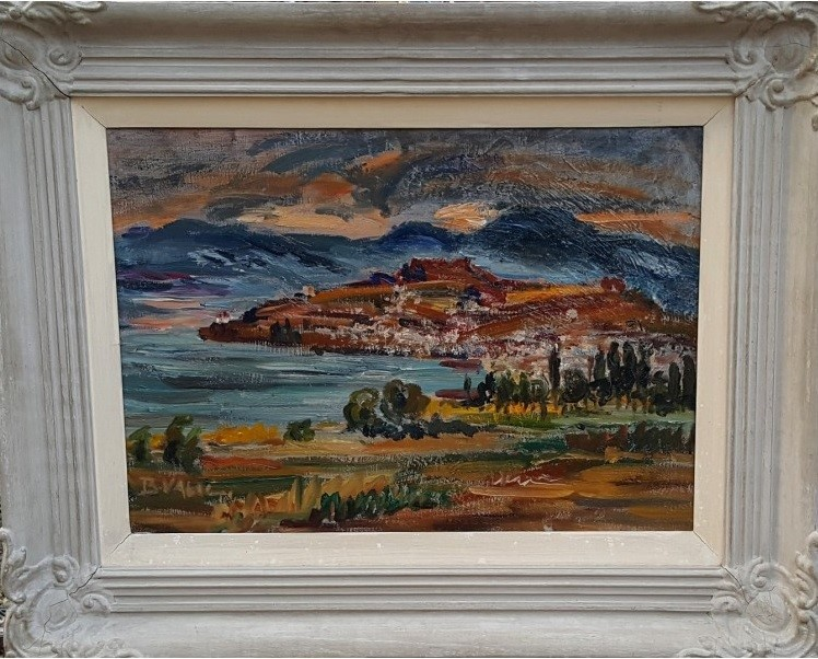 Bosa Valić – Jovančić (1897 – 1971) Ohrid 1935, oil on canvas