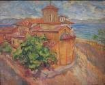 Branko-Popović-1882-1944-Monastery-St.-Naum-Ohrid-1931-oil-on-canvas