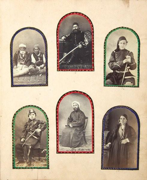 Сцени од Битола, албум со фотографии и цртежи 1865