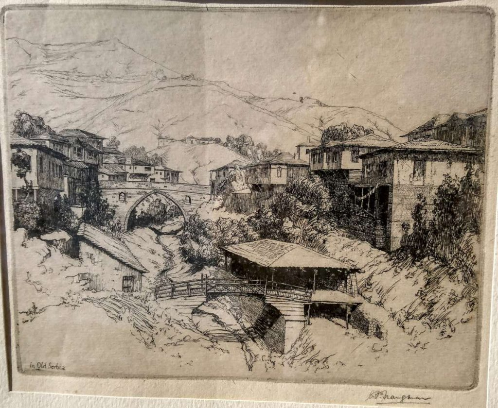 "Charles-Frank-Trangmar-1889-–-""In-Old-Serbia""-etching-1915"