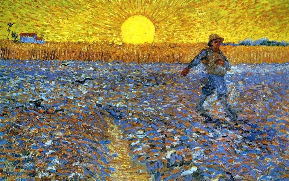 """Vincent van Gogh (1853-1890), """"The Sower"""" Arles, France 1888"""