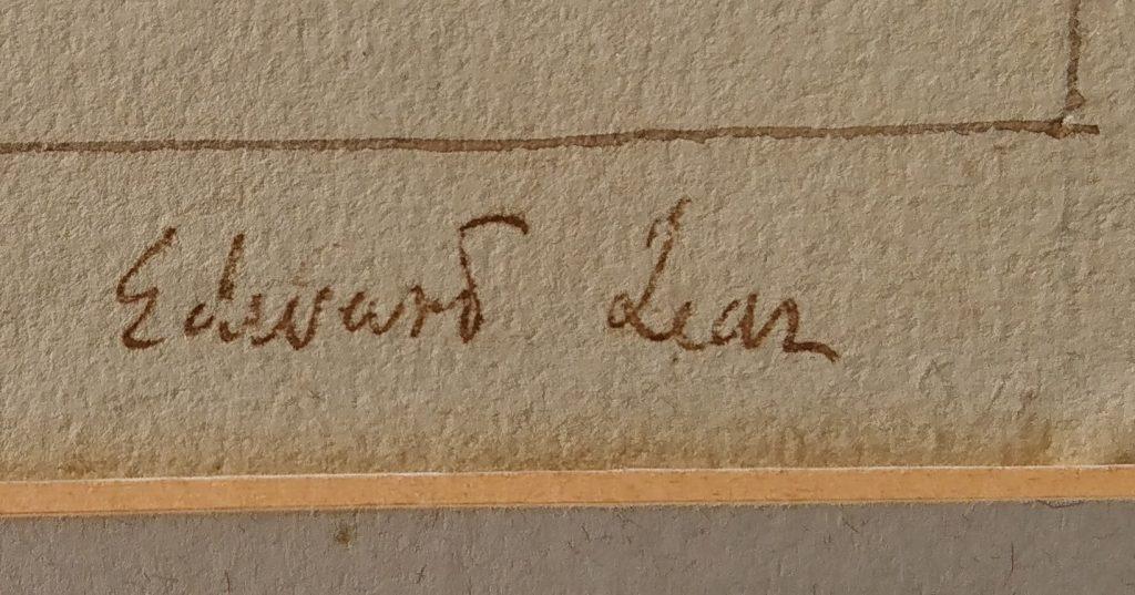 Edward-Lear1812-–-1885-Lake-Aechrida-Macedonia-1848-ink-.-1