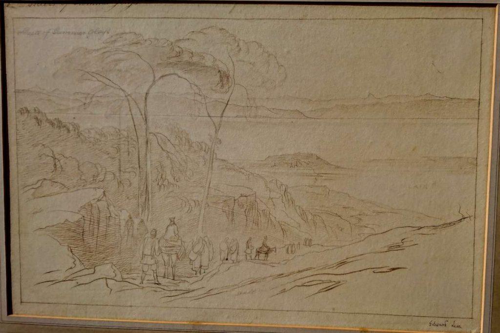 Охрид Македонија 1848, мастило
