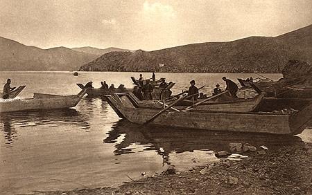 Frederic Boissonnas (1858 -1946), Lake Castoria 1921