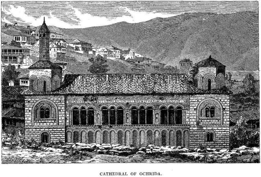 Georgina-Mary-Mackenzie-1833-–1874-Cathedral-in-Ohrid-1867