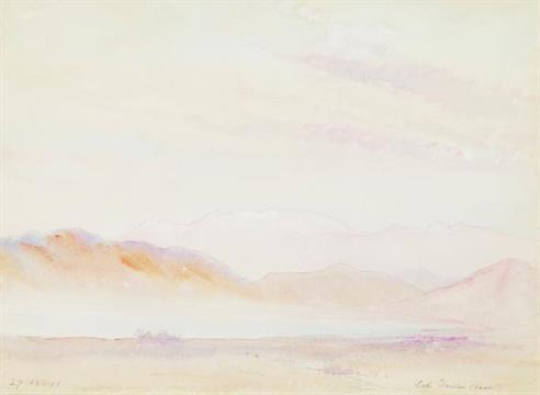 Дојранско Езеро 1917, акварел