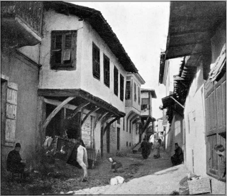 Главна улица во Охрид, 1904, фотографија