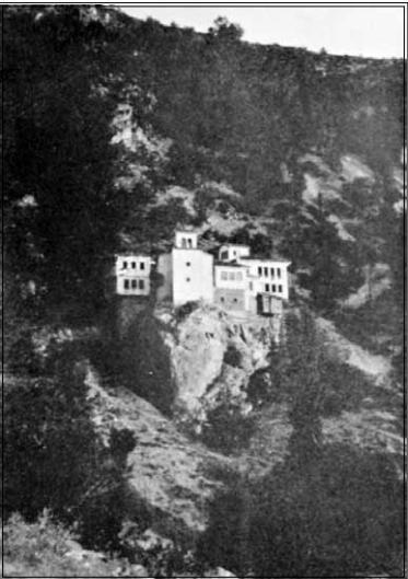 Манастир крај Охрид, 1904, фотографија