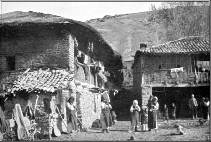 Сиромашни селани близу Охрид, 1904, фотографија