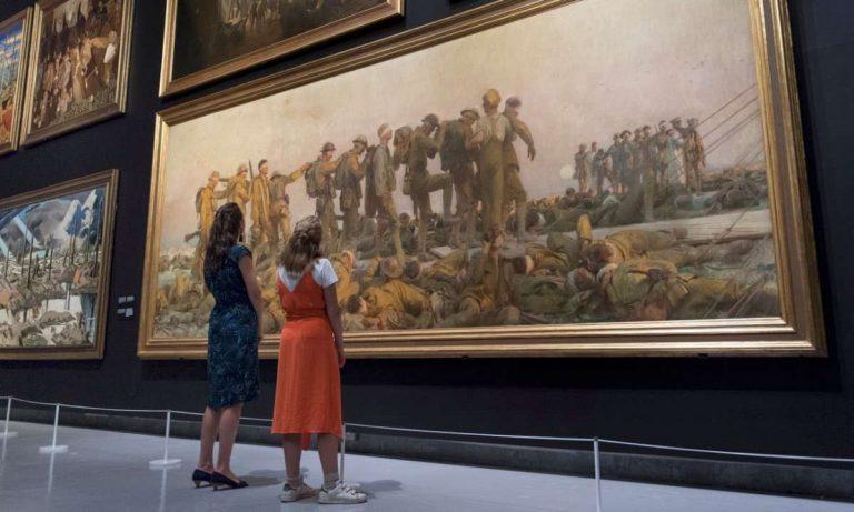 Ликовната галерија во Империјаниот воен музеј во Лондон, 2018