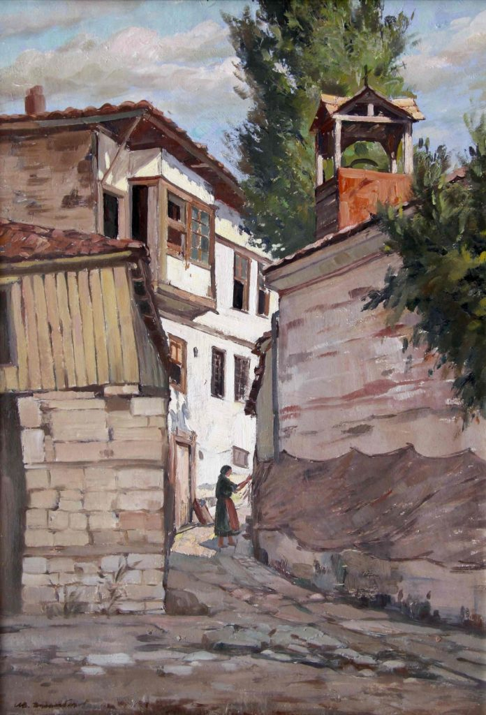 Ivan-Dzambazov-XIX-XX-Ohrid-1943-oil-on-canvas