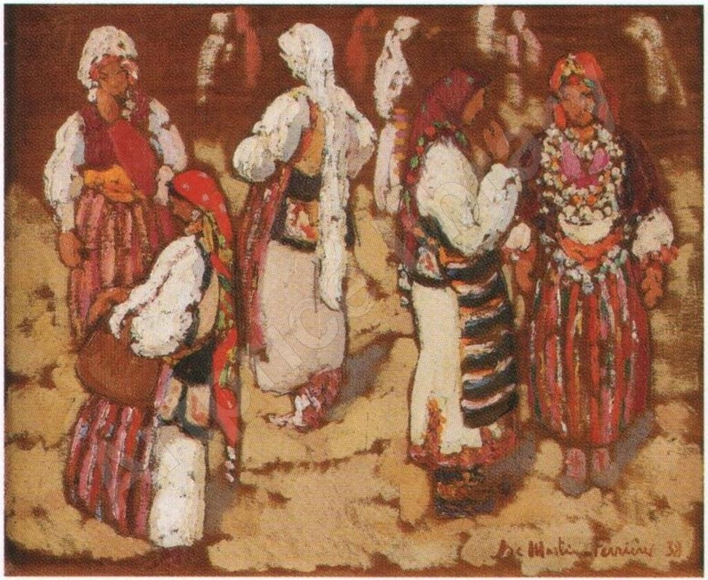 Jacques-Martin-Ferrières-1892-1972-Yugoslavian-women-on-the-market-oil-on-canvas