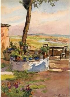Градина-тераса, Солун 1917