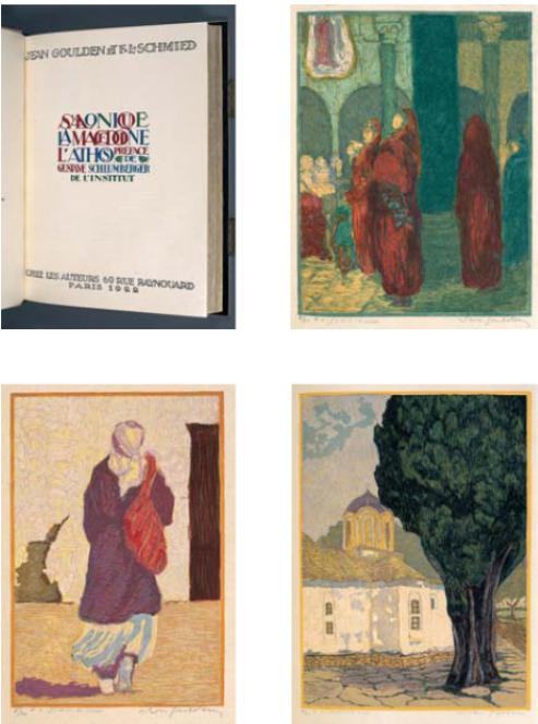 """Jean-Goulden-1878-1946-The-book-""""Salonique-La-Macedoine-L'Athos..."""