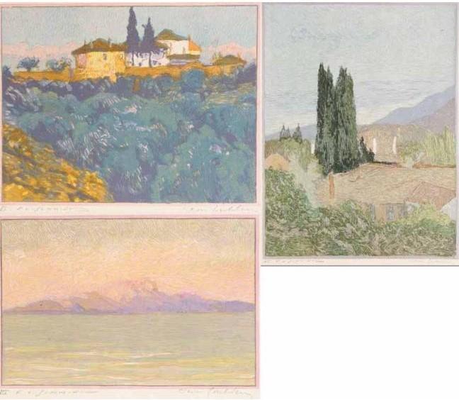 """Jean-Goulden-1878-1946-The-book-""""Salonique-La-Macedoine-L'Athos."""