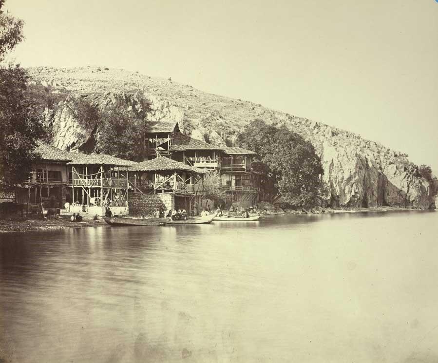 Josef Székely 1838 1901 Ohrid Kalishta 1863