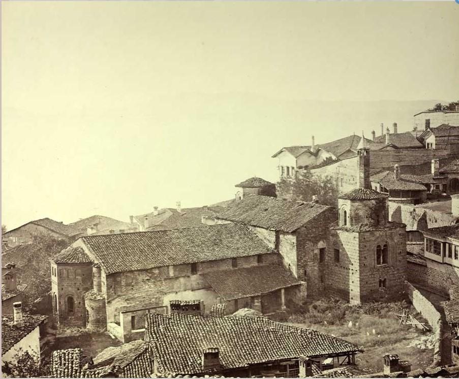 Josef Székely 1838 1901 St Sophia mosque 1863 2