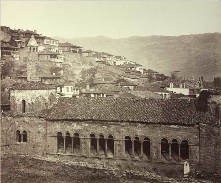 Josef Székely 1838 1901 St Sophia mosque 1863