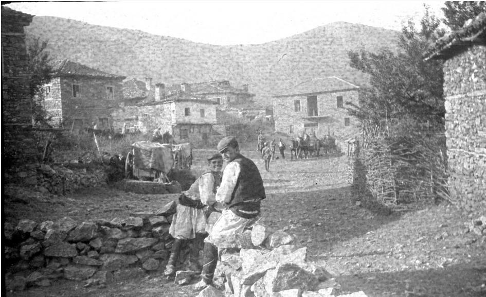 Joseph-Pigassou-1878-1961-Serbian-Army-through-North-Macedonian-front-1915-photo