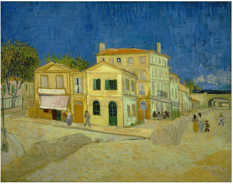 "Винсент ван Гог (1853-1890), ""Жолтата куќа"" Арл (Arles), Франција 1888"