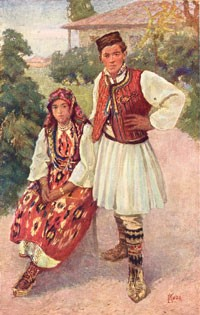 Ludvik-Kuba-1863-–-1956-Folk-Costumes-from-Bitola-and-Skopje-regions-1925-oil-canvas