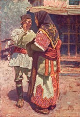 Ludvik-Kuba-1863-–-1956-Folk-Costumes-from-Bitola-and-Skopje-regions-1925-oilcanvas