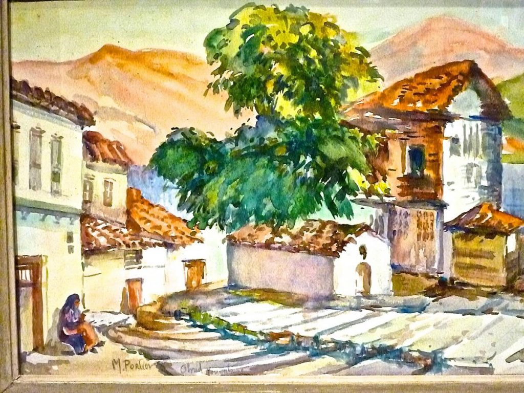 Marguerite-Portier-1893-1992-Ochrida-watercolors.