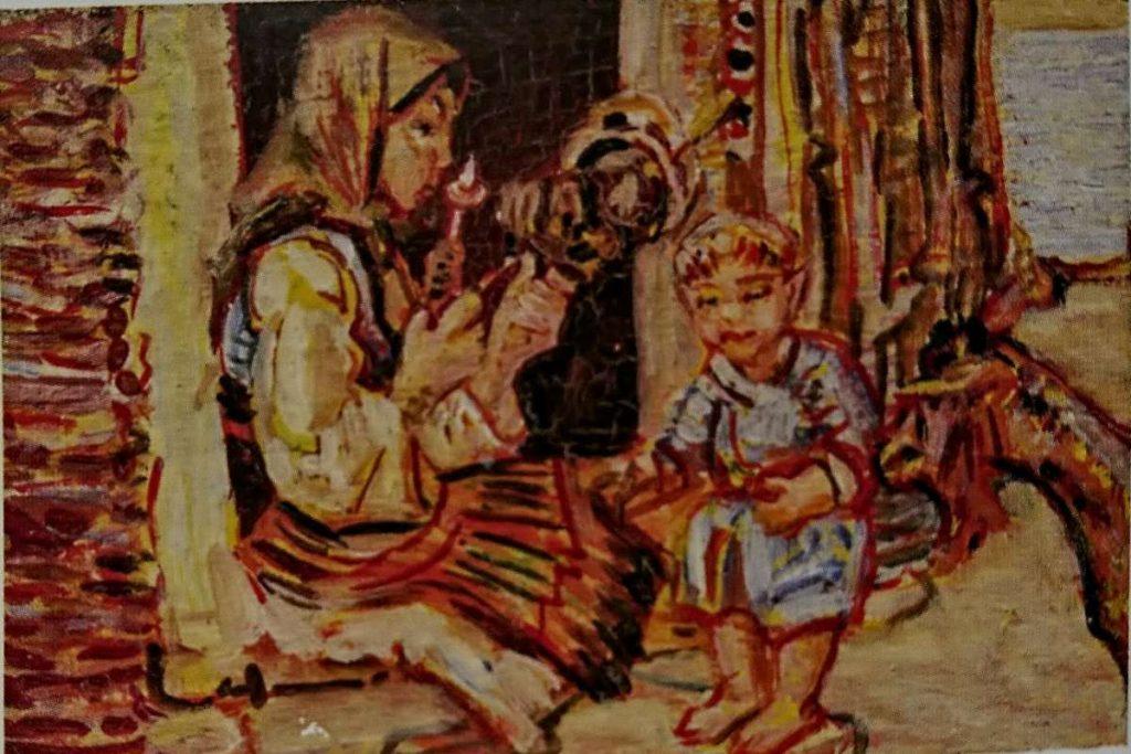 Nikola Petković Examples of his paintings from Macedonia 1927 1934 2