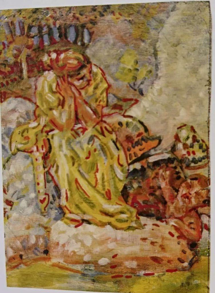 Nikola Petković Examples of his paintings from Macedonia 1927 1934 3