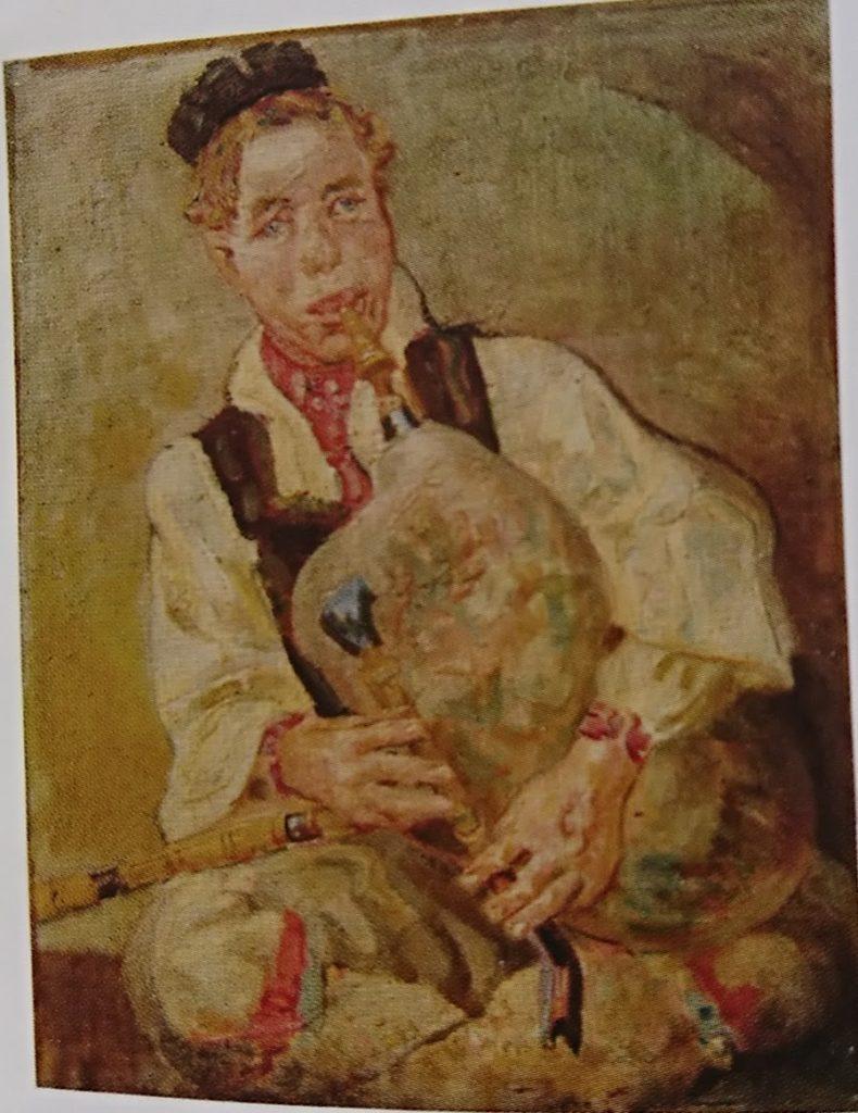 Nikola Petković Examples of his paintings from Macedonia 1927 1934