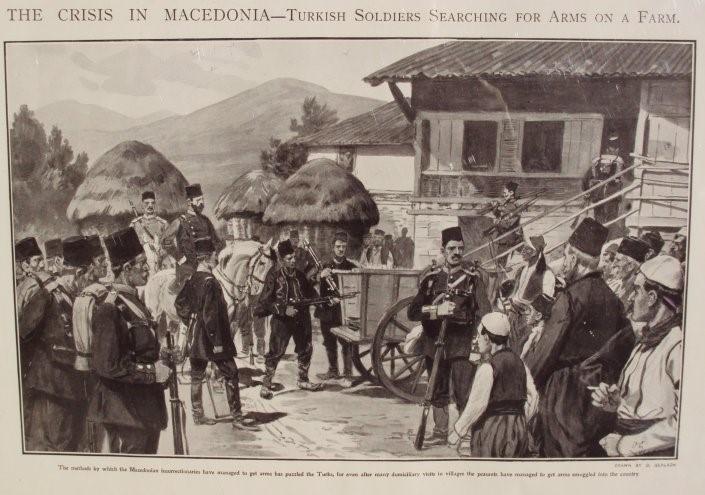 Otto Gerlach 1862-1908 Illustration for The Sphere 26 September 1903 Crisis In Macedonia