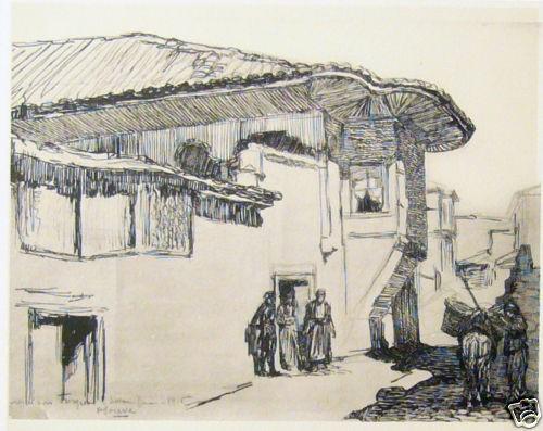 Paul-Jouve1880-1973-Salonique-Macedonia-1916