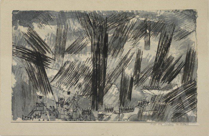 Paul-Klee-1979-1940Landing-in-Saloniki-1915-watercolor