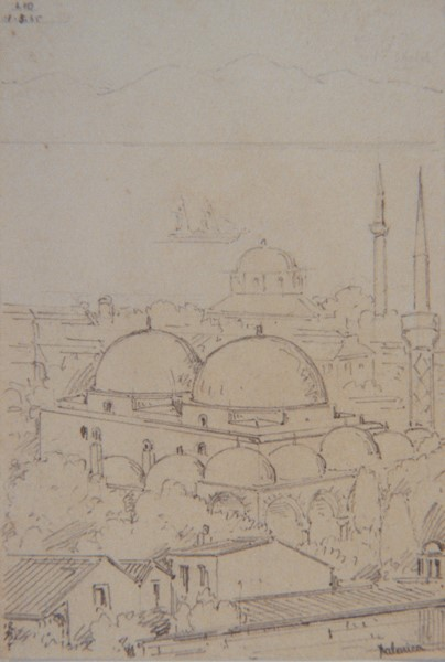 Солун 1858 цртеж