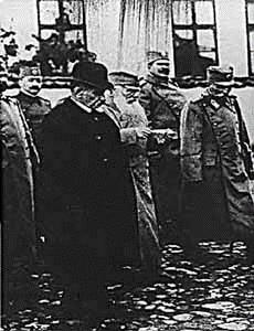 Rista-Marjanovic-1885-1969-King-Petar-and-Duke-Putnik-entering-Kumanovo-and-Skopje-1912-1