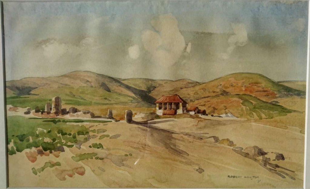 Родови кај Калиново (Σουλτογιανναίικα) 1917, акварел