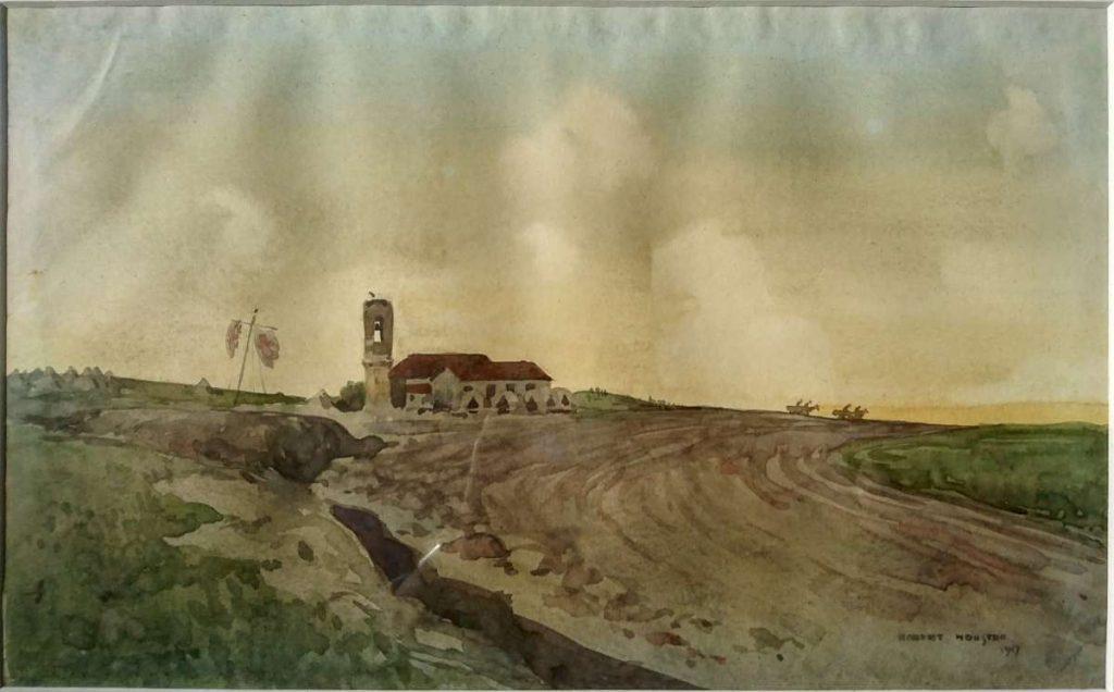 Чугунци (Μεγάλη Στέρνα) 1917, акварел