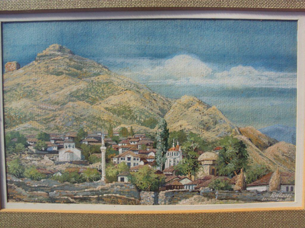 Rudolph-Wessel-XIX-XX-Strumica-1917-gouache