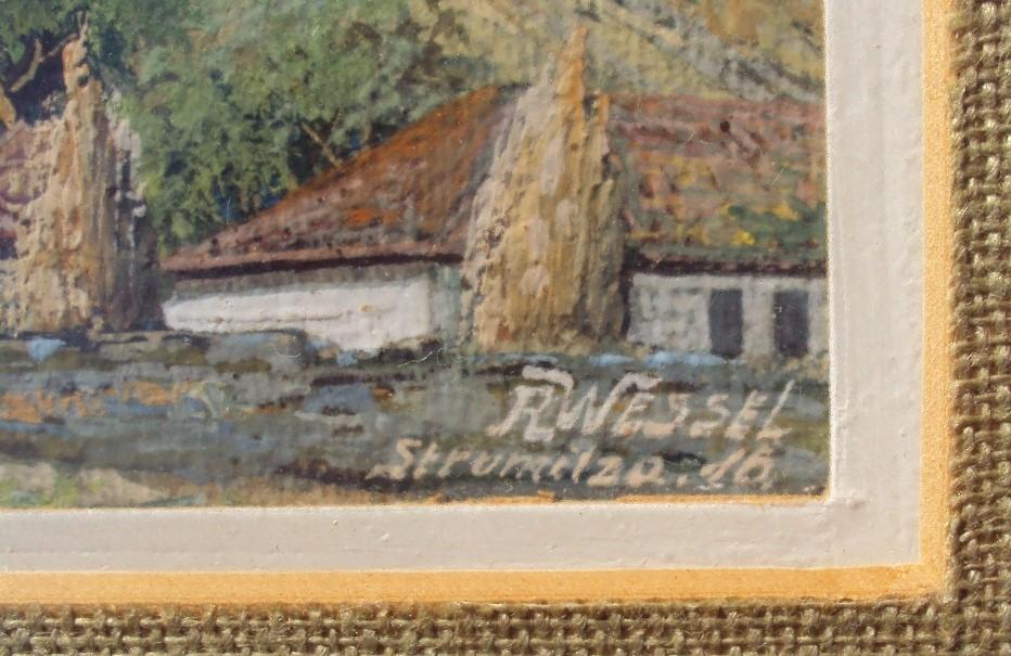 Rudolph-Wessel-XIX-XX-Strumica-1917-gouache.