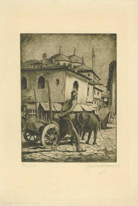 Улица на Крал Петар, Охрид 1914
