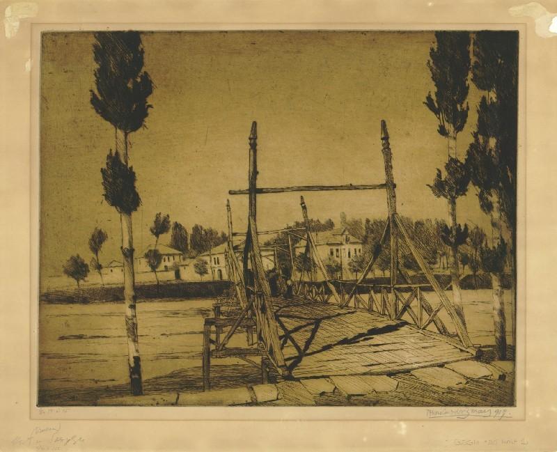 Мост во Скопје, 1919