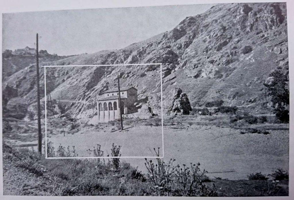 Tower of innkeeper Janja in Veles, photo from 1965